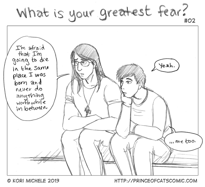 "Sketch Interlude: ""Greatest Fear"" 2/3"